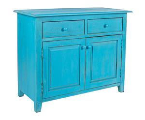 """Skříňka """"Margot Blue"""", 45 x 100 x 80 cm"""