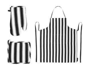"""Zástěra s chňapkou a rukavicí """"Stripes"""""""