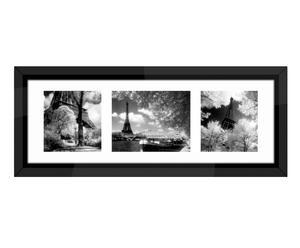 """Nástěnná dekorace """"Paris-Triptych"""", 99,5 x 36 cm"""