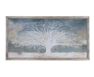 "Nástěnná dekorace ""Tree"", 144 x 3 x 76,5 cm"