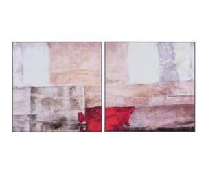 """Nástěnná dekorace """"Abstracto"""", 79,5 x 2 x 79,5 cm"""