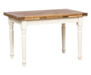 """Rozkládací jídelní stůl """"Georgette"""", 80 x 120-210 x 75 cm"""