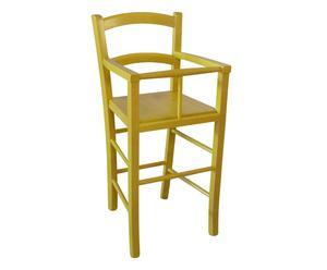 """Dětská židle """"Ermano Yellow"""", 46 x 46 x 101 cm"""
