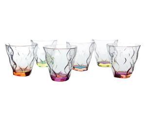 """Sada 6 skleniček na likér """"Colorati"""", Ø 6, výš. 6 cm"""