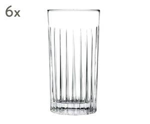 """Sada 6 skleniček """"Sense"""", Ø 7,5, výš. 15 cm"""