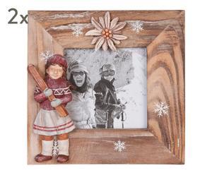 """Sada 2 fotorámečků """"Jovita"""", 12 x 12 cm"""