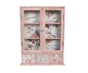 "Skříňka ""Pink"", 13 x 59 x 72 cm"