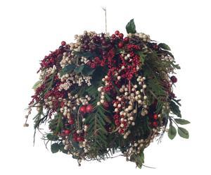 """Vánoční dekorace """"Bacche"""", Ø 26, výš. 26 cm"""