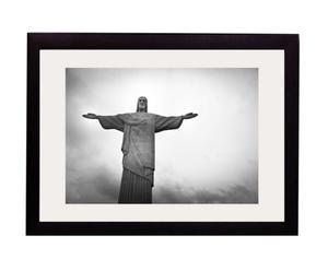 "Nástěnná dekorace ""Rio"", 2,2 x 50 x 40 cm"