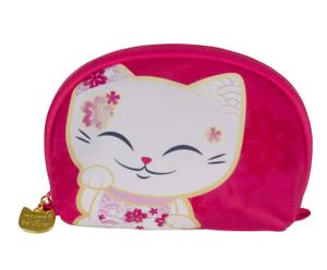 "Kosmetická taška ""Mani Lucky Cats"", 6 x 18 x 13 cm"