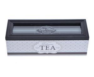 "Krabička na čaj ""Enjoy"", 7 x 22,5 x 8 cm"