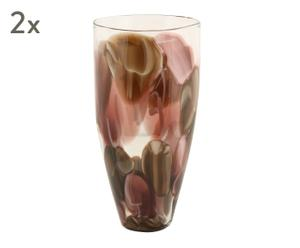 """Sada 2 váz """"Neri"""", Ø 20, výš. 41 cm"""