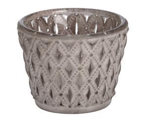 """Svícen na čajové svíčky """"Dilys"""", Ø 7,5, výš. 6 cm"""