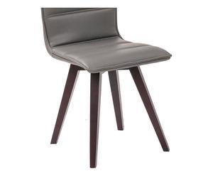"Sada 2 židlí ""Iris Grigia"", 53,5 x 43 x 88 cm"