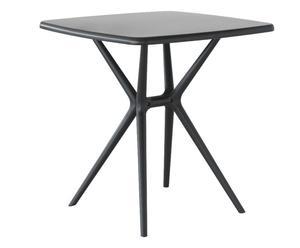"""Stůl """"Borneo Nero"""", 70 x 70 x 74 cm"""