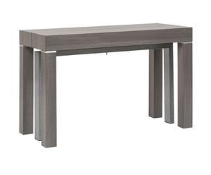 """Stůl """"Kenion Grigio"""", 50 - 300 x 120 x 76 cm"""