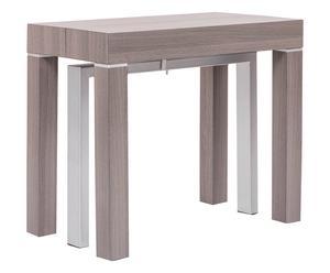 "Rozkládací stůl ""Regalo Grigio"", 90 x 50 - 250 x 75 cm"