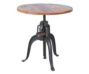 """Stůl """"Fundos"""", Ø 75, výš. 74-100 cm"""