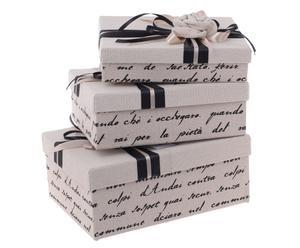 """Sada 3 krabiček  """"Soren"""""""