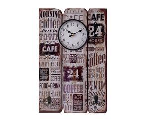 "Nástěnné hodiny ""Coffee"", 30 x 4 x 45 cm"