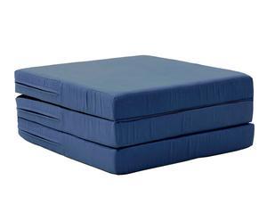 "Skladatelná matrace ""Karma Blue"", 65 x 65 - 192 x 27 cm"
