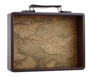 "Dekorace ""Map"", 5 x 24 x 18 cm"