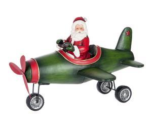 """Vánoční dekorace """"Plane"""", 25 x 29,5 x 21,5 cm"""