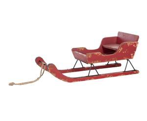 """Vánoční dekorace """"Sledge Red"""", 35 x 78 x 32 cm"""