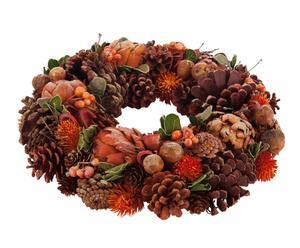 """Vánoční dekorace """"Rusty Wreath"""", Ø 34, výš. 8,5 cm"""