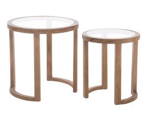 """Sada 2 odkládacích stolků """"Owen"""", Ø 61, výš. 62 cm"""