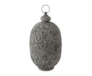 "Lucerna ""Ethnic Grey"", Ø 27,5, výš. 49 cm"