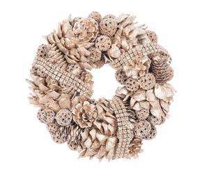 """Dekorativní věnec """"Wreath Champagne"""", Ø 24, šíř. 6 cm"""