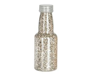 """Dekorační láhev """"Giltter stone"""", Ø 4, výš. 12 cm"""