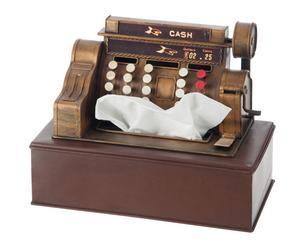 """Dóza na papírové kapesníky """"Register Cash"""", 13 x 23 x 19 cm"""