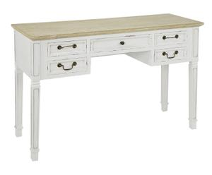 """Toaletní stolek """"Avignone White"""", 40,5 x 120 x 80 cm"""