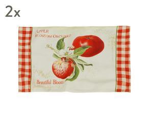"Sada 2 ks prostírání ""Apple"", 33 x 46 cm"