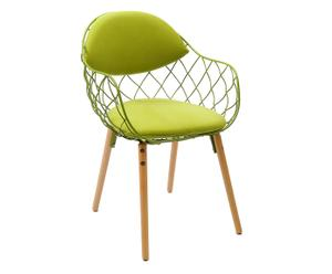 "Židle ""Moon Green"", 52 x 55 x 80 cm"