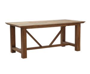 """Jídelní stůl """"Cansas"""", 90 x 180 x 76 cm"""