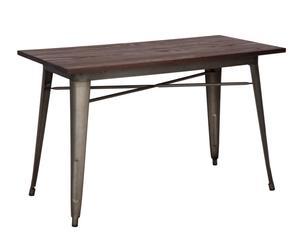 """Jídelní stůl """"Detroit"""", 60 x 120 x 75 cm"""