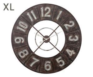 """Nástěnné hodiny """"Black Narrow"""", Ø 90, tl. 4 cm"""