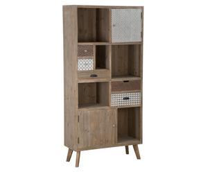 """Regál/skříňka """"Bisanzio"""", 34,5 x 90 x 187 cm"""