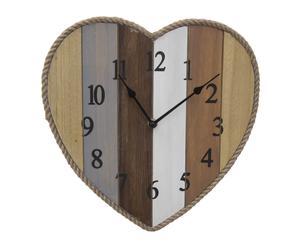 """Nástěnné hodiny """"Love"""", 29,5 x 3,5 x 29,5 cm"""