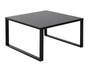 """Konferenční stolek """"Nero"""", 60 x 60 x 20 cm"""