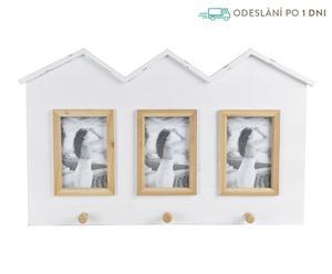 """Multirámeček s věšáky """"Forrest"""", 4 x 57 x 35 cm"""