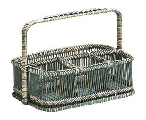 """Košík na koupelnové doplňky """"Caddy Grey"""", 20 x 29 x 20 cm"""