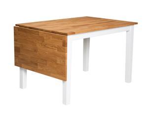 """Sklápěcí jídelní stůl """"Linus Natural Leaf"""", 80 x 120 x 74 cm"""