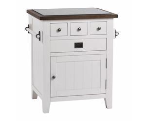 """Kuchyňská komoda """"Nottingham White"""", 74 x 60 x 85 cm"""