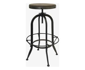 """Barová stolička """"Cassidy III"""", Ø 50, výš. 70 - 87 cm"""