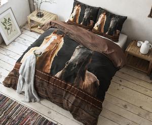 "Povlečení ""Horses Brown"", 220 x 240 cm"