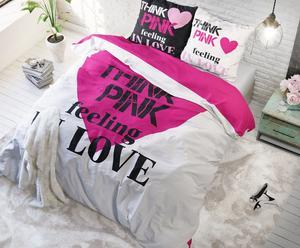 """Povlečení """"Think Pink Pink"""", 140 x 220 cm"""
